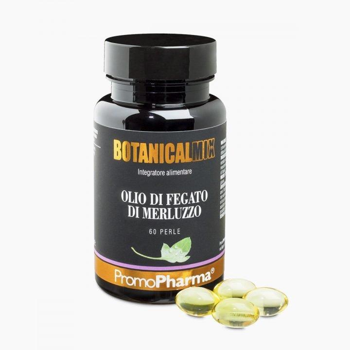Immagino Olio di fegato di merluzzo Botanical Mix PromoPharma