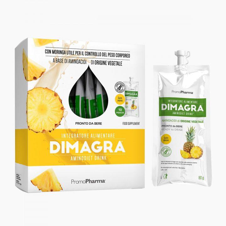 Immagine Dimagra Aminodiet Drink Ananas XanaStore