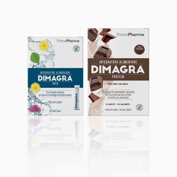 Kit Dimagra Protein Cioccolato – step Mantenimento
