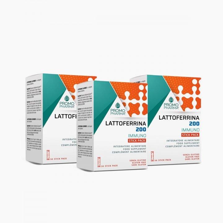 Immagine Lattoferrina 200 Immuno Kit 3 Stick