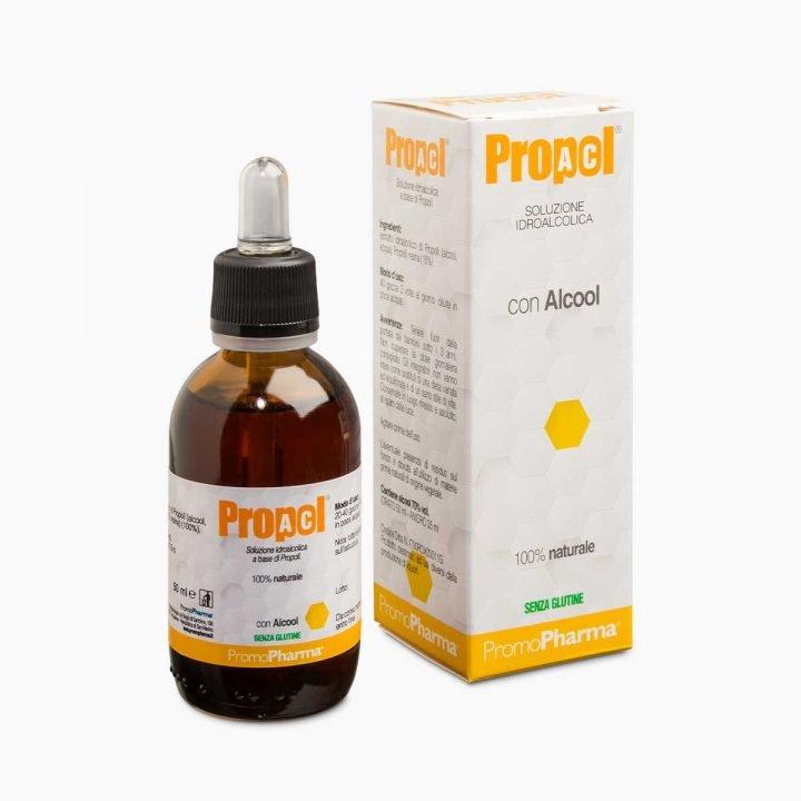 Immagine PropolAC soluzione idroalcolica PromoPharma