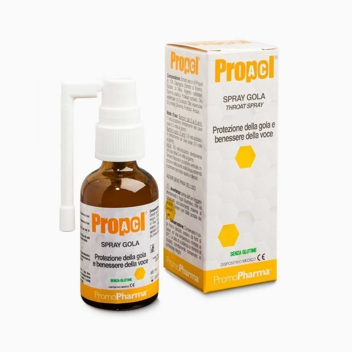 Immagine PropolAC Spray Gola Adulti Dispositivo Medico XanaStore