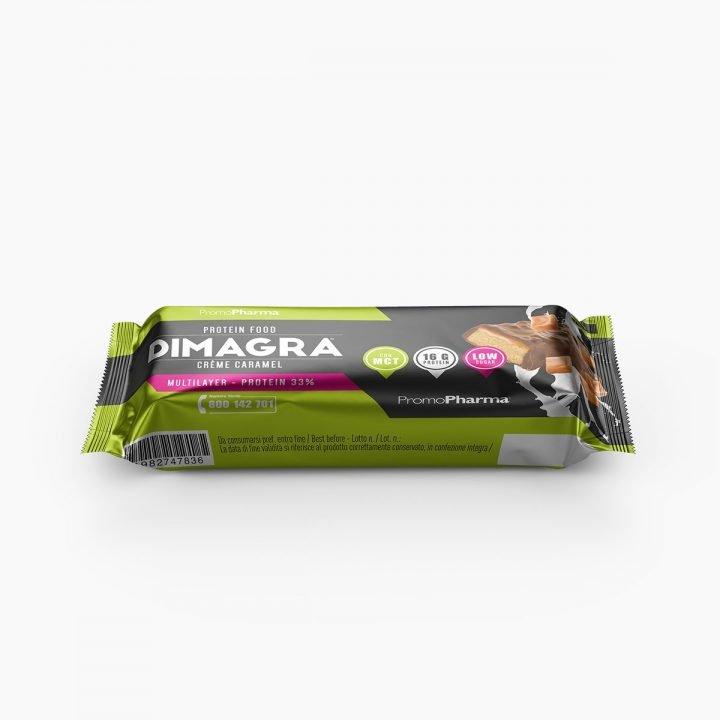 Immagine Dimagra Protein Bar 33% Crème Caramel Xanastore